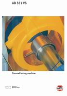 AB 651 VS Con-rod boring machine