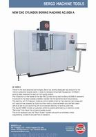 New CNC cylinder boring machine AC1000 A