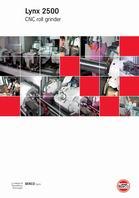 Lynx 2500 CNC roll grinder