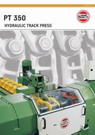 PT 350 Hydraulic track press