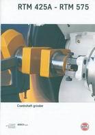 RTM 425A - RTM 575 Crankshaft grinder